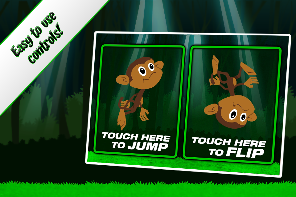 Screenshot Mega Monkey Run: Kico's Running Adventure!