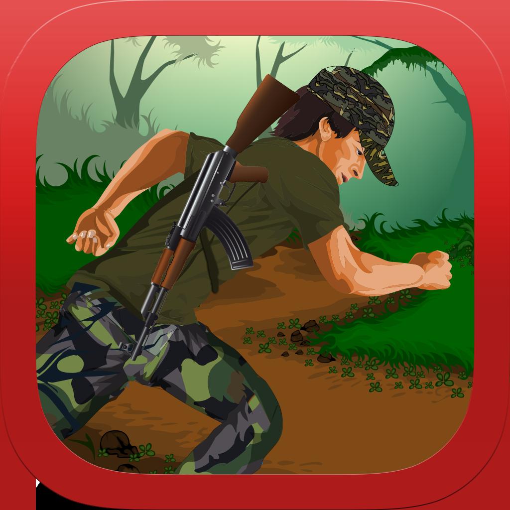 Army Soldier Jungle Battle Escape